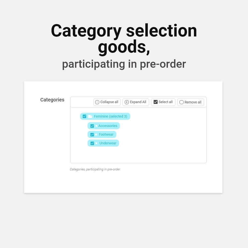 module - Registration & Ordering Process - Pre-Order - 11