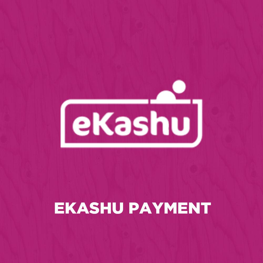 module - Zahlung per Kreditkarte oder Wallet - eKashu (NMI) Hosted Payment - 1