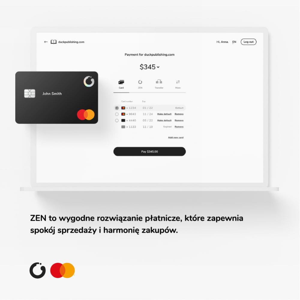 module - Płatności - ZEN.com Oficjalny Moduł - 1
