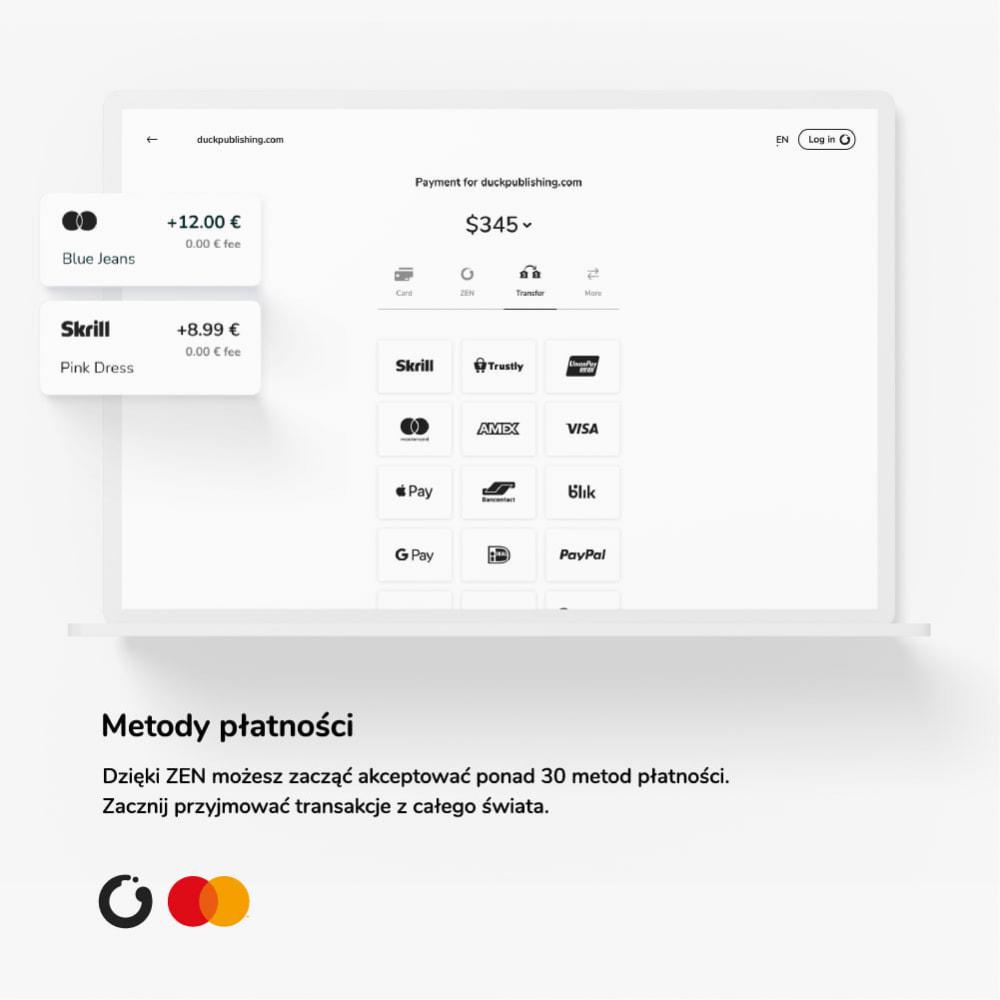 module - Płatności - ZEN.com Oficjalny Moduł - 2