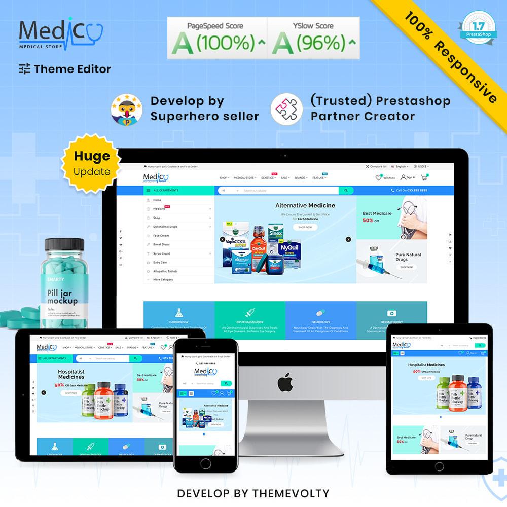 theme - Gesundheit & Schönheit - Medico Mega Medicine–Drug Pharmacy–Medical Super Store - 1