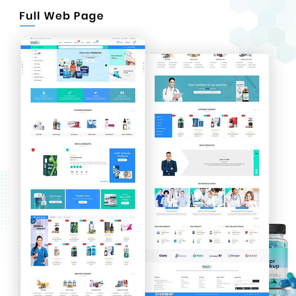 theme - Gesundheit & Schönheit - Medico Mega Medicine–Drug Pharmacy–Medical Super Store - 2