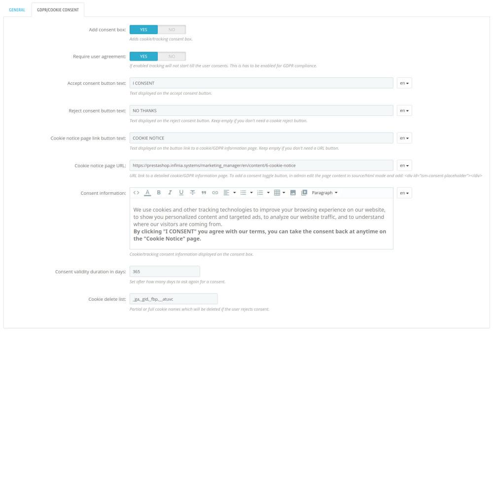 module - Analytics & Statistiche - Script Manager Pro (Customizable Scripts, APIs & GDPR) - 4