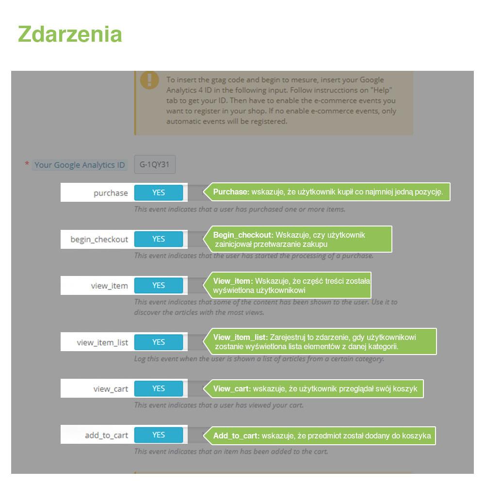 module - Analizy & Statystyki - Google Analytics 4 - 3