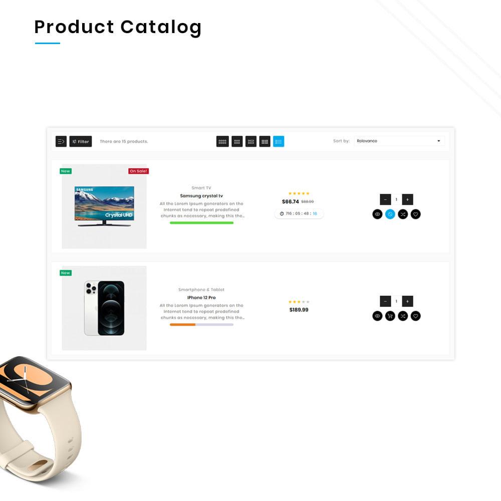 theme - Электроника и компьютеры - Electros High–Tech Gadgets–Electronics Mega Store - 12