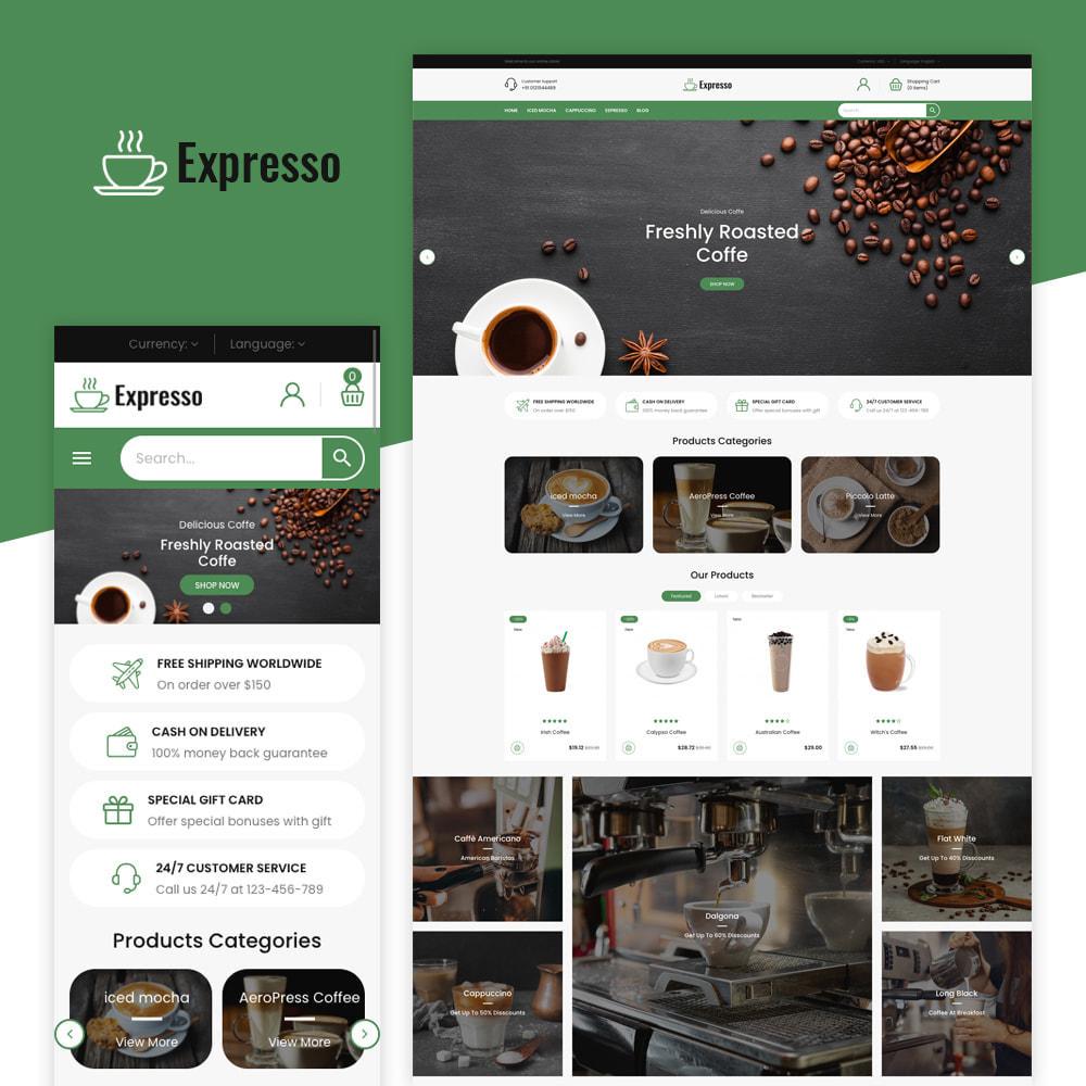 theme - Getränke & Tabak - Expresso Coffee Store - 1