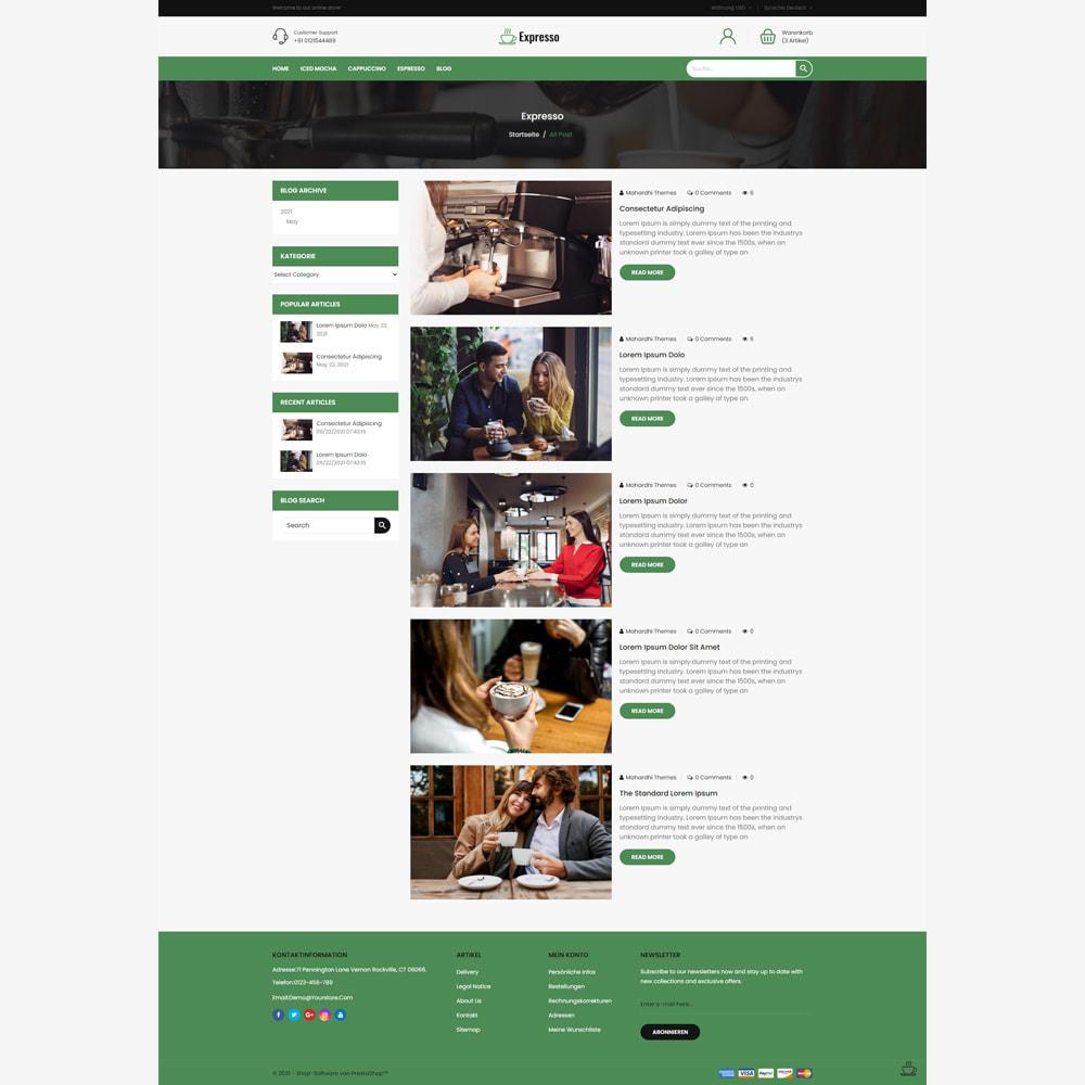 theme - Getränke & Tabak - Expresso Coffee Store - 5