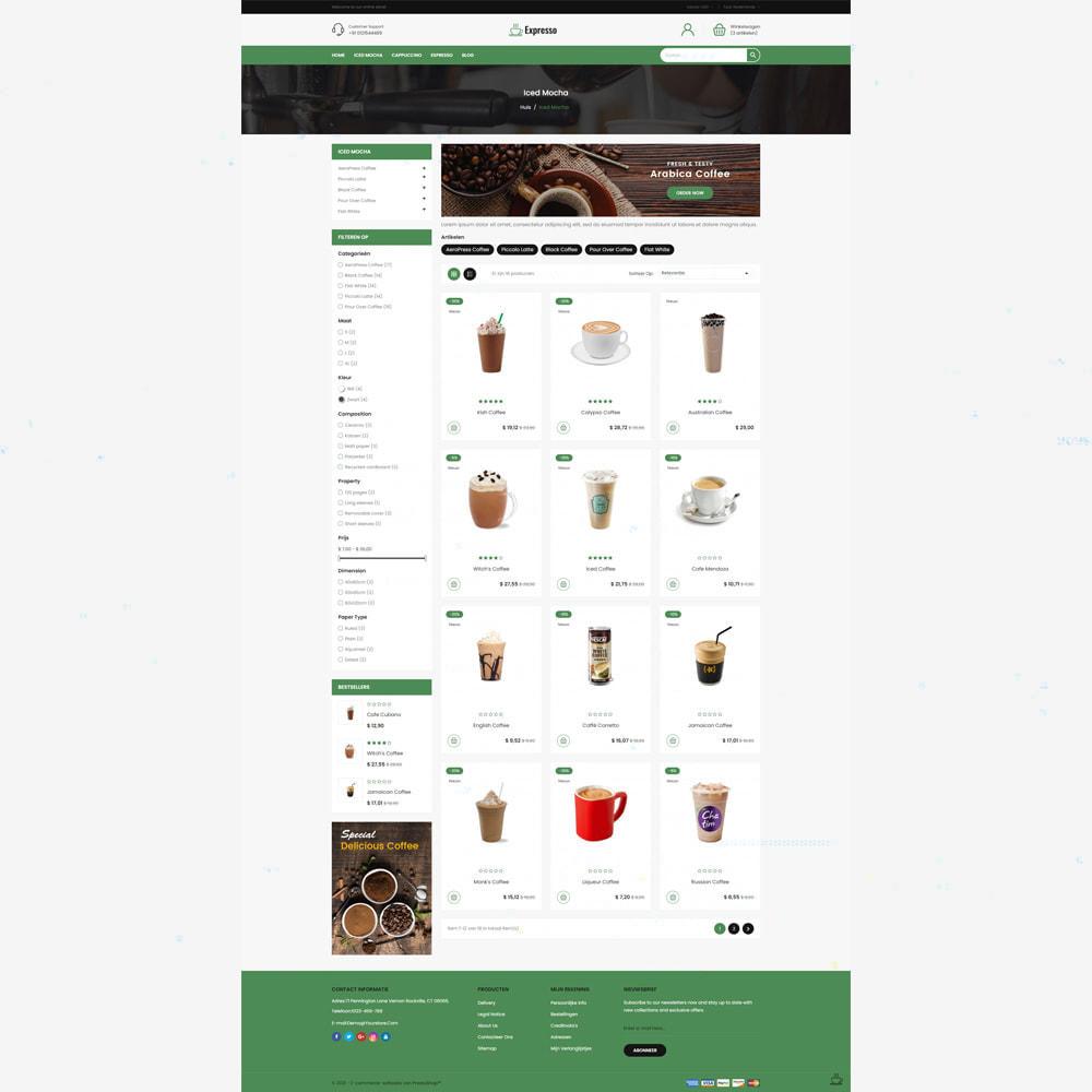 theme - Drank & Tabak - Expresso Coffee Store - 3