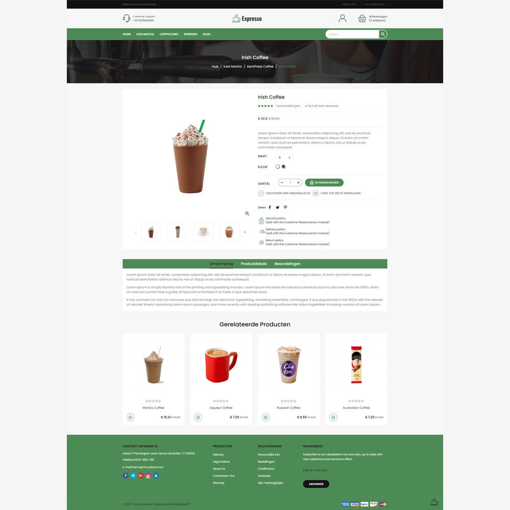 theme - Drank & Tabak - Expresso Coffee Store - 4