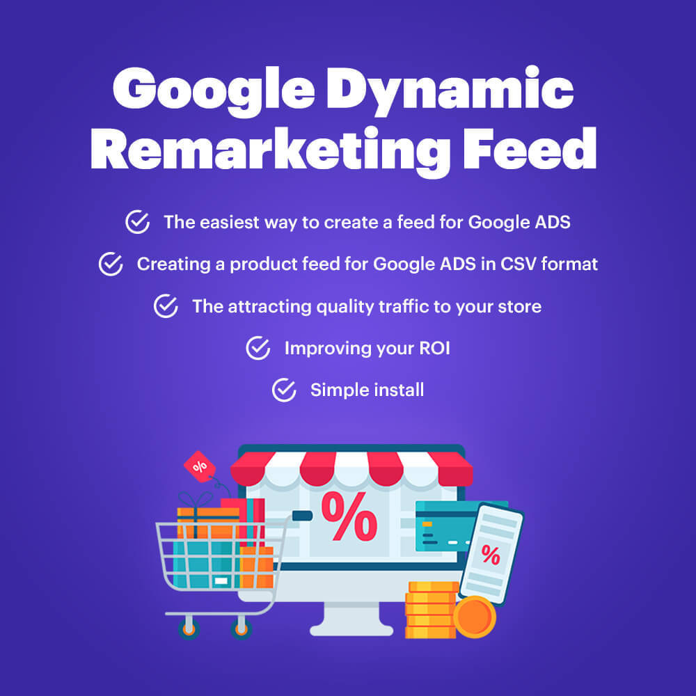 module - Remarketing y Carritos abandonados - Google Dynamic Remarketing (Feed for Google Ads) - 1