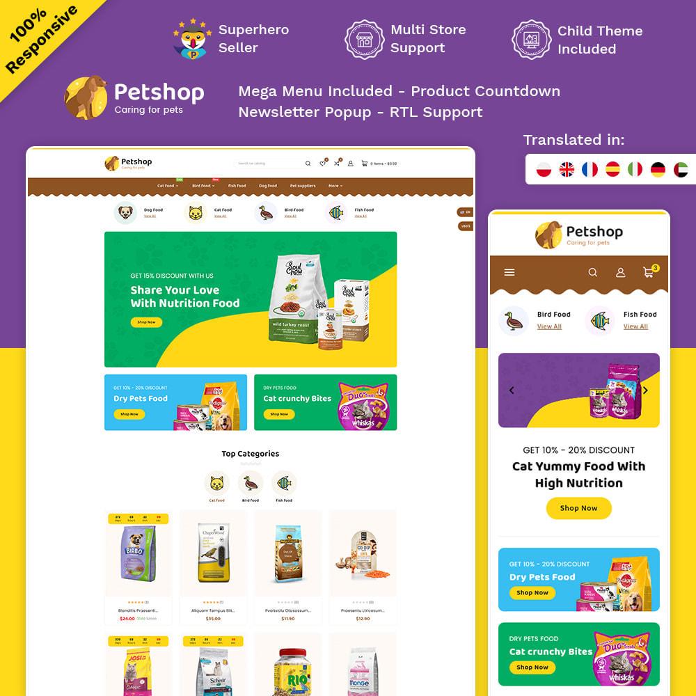 theme - Animali - Petstore - Animals & Pets Care Store - 1