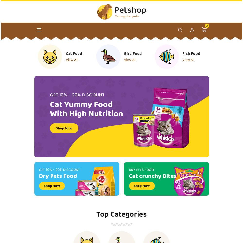 theme - Animali - Petstore - Animals & Pets Care Store - 14