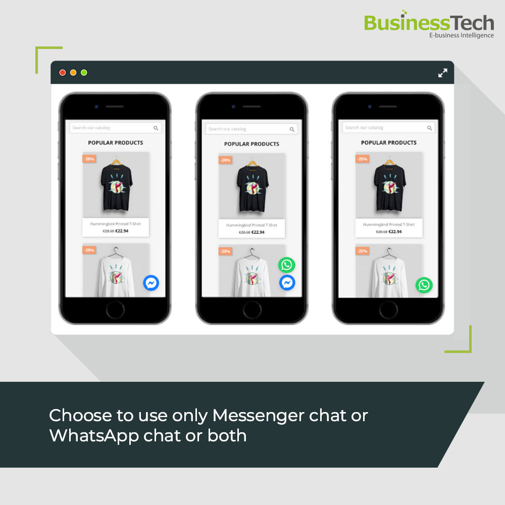 module - Support & Online-Chat - Chat Network for Facebook Messenger & WhatsApp-chats - 2