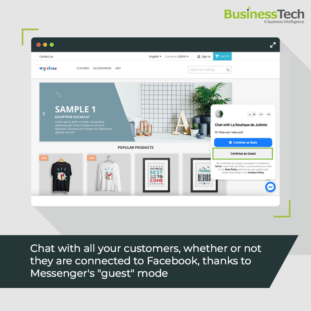 module - Support & Online-Chat - Chat Network for Facebook Messenger & WhatsApp-chats - 3