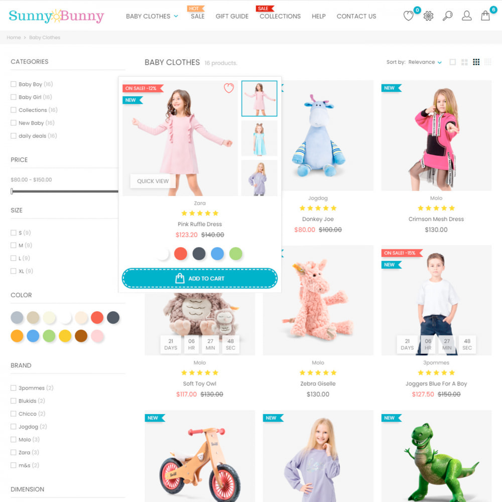 theme - Kinderen & Speelgoed - Kids & Toys - Clothes & Shoes, Fashion, Baby, Joy - 5
