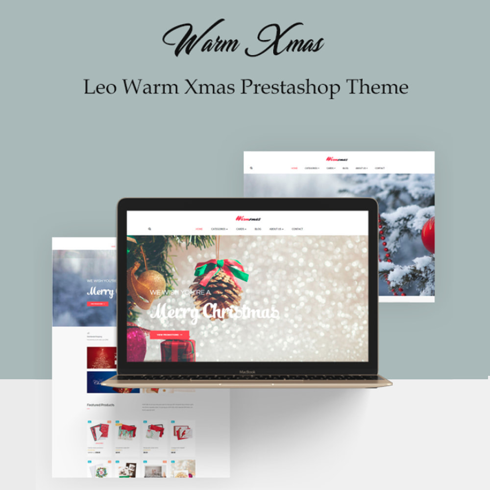 theme - Cadeaus, Bloemen & Gelegenheden - Bos Warm Xmas - 1