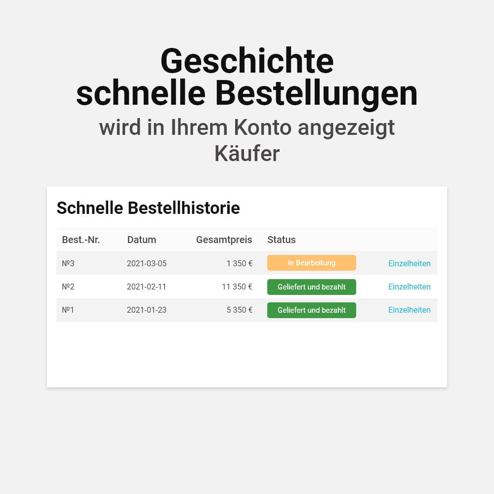 module - Express Checkout Prozesse - Ein-Klick-Bestellung - 5