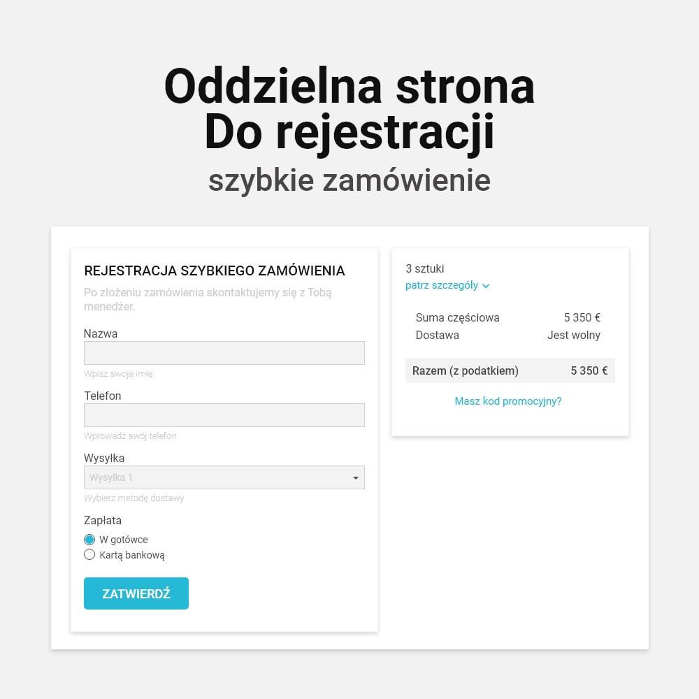 module - Szybki proces składania zamówienia - Zamówienie jednym kliknięciem! - 8