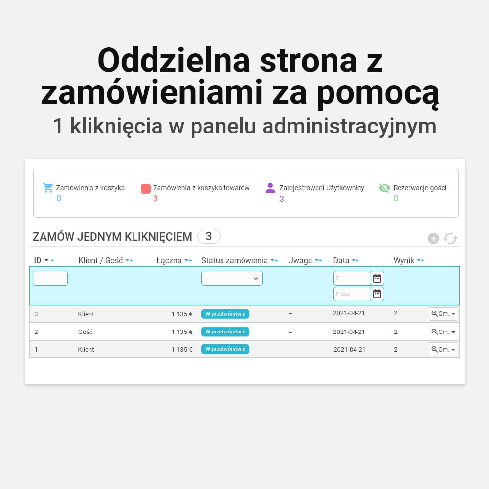 module - Szybki proces składania zamówienia - Zamówienie jednym kliknięciem! - 10