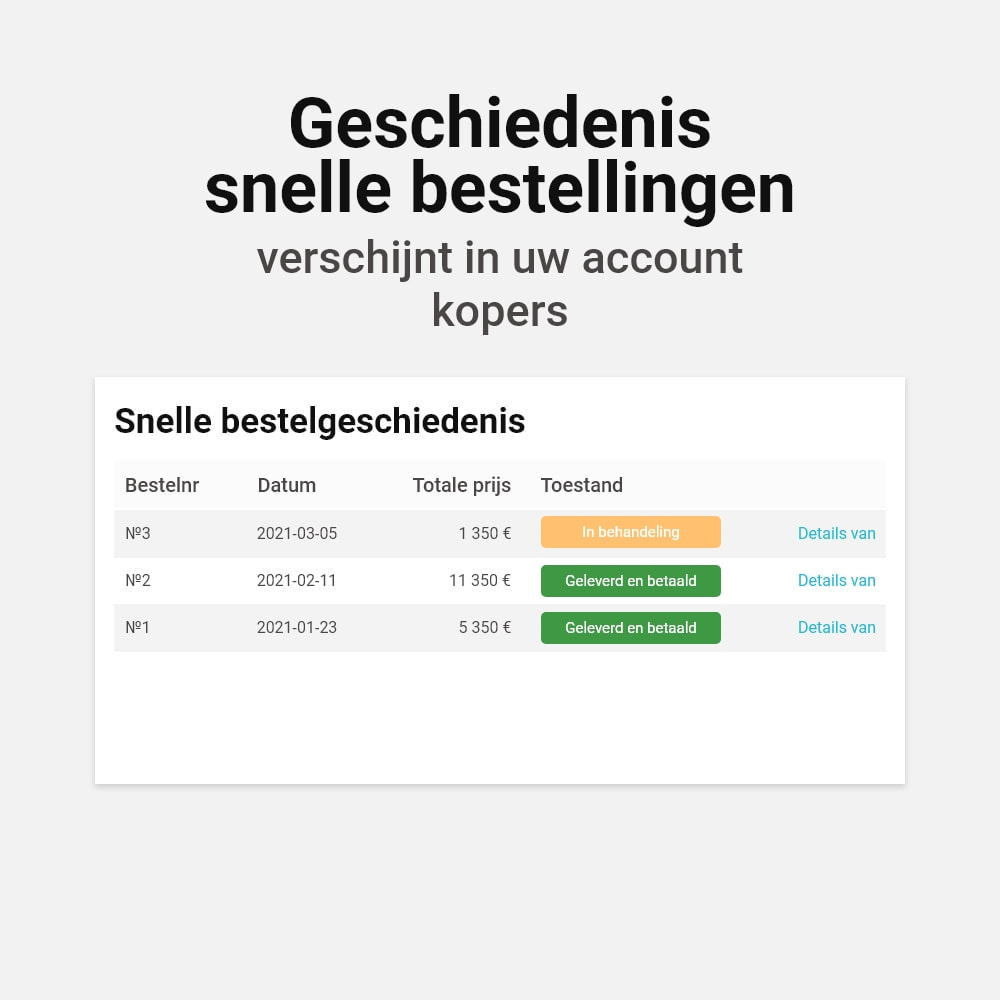 module - Bestelproces - Bestel met één klik click - 5