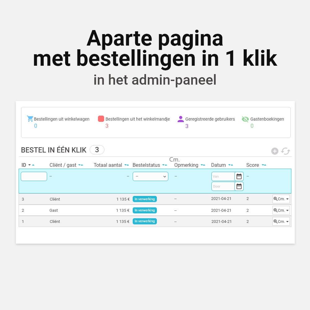 module - Bestelproces - Bestel met één klik click - 10