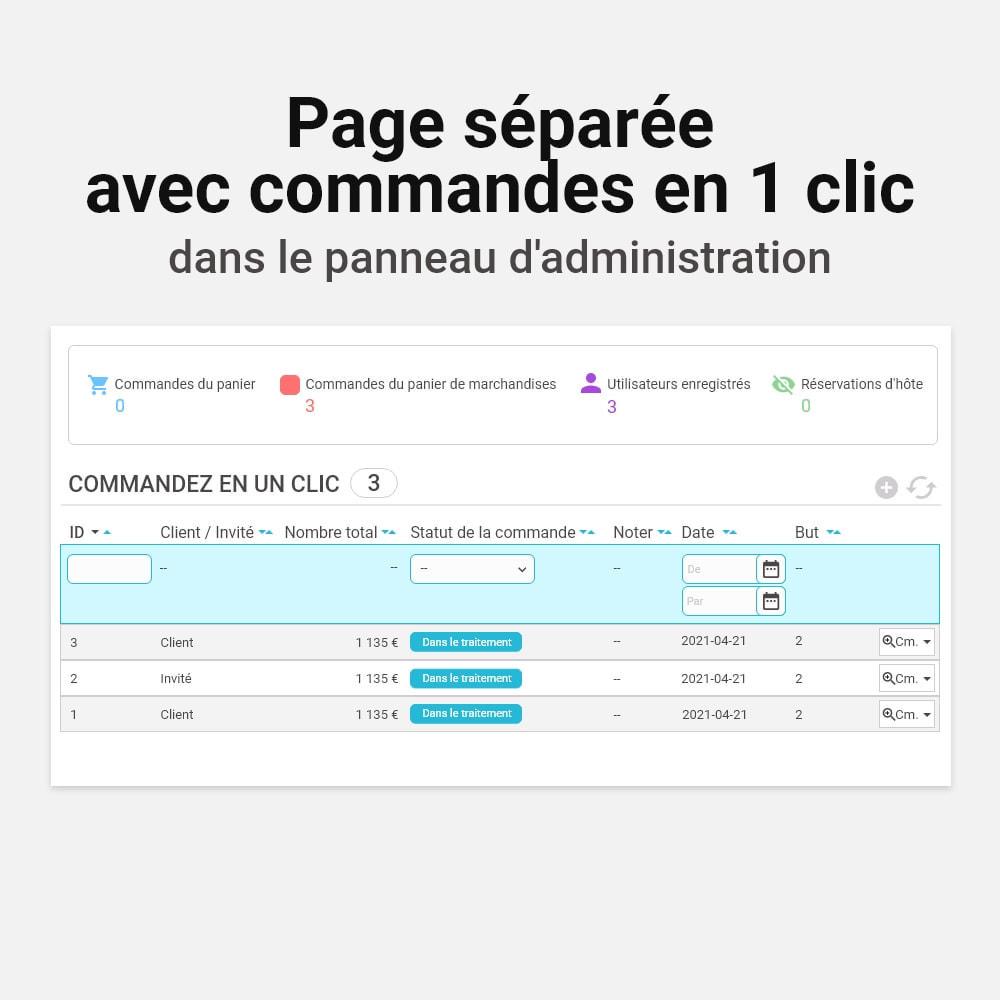 module - Processus rapide de commande - Commande en un clic - 10