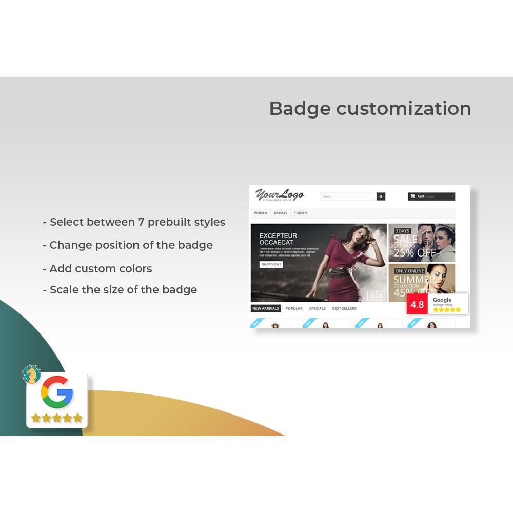 module - Opinie klientów - Google My Business Badge PRO - 2