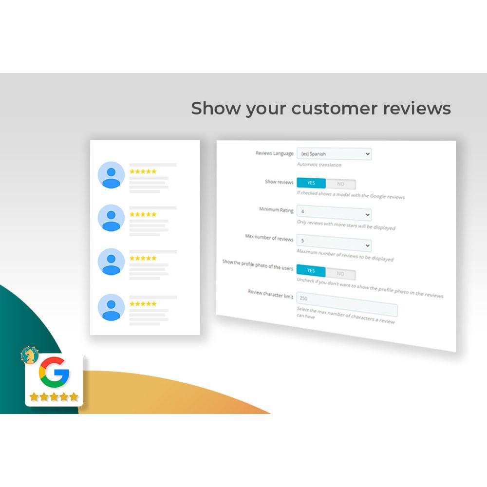module - Opinie klientów - Google My Business Badge PRO - 4