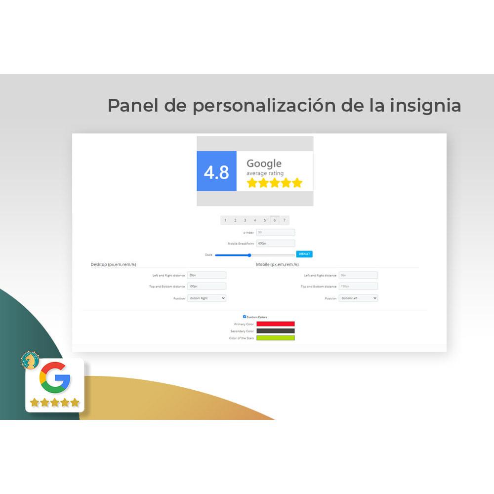 module - Comentarios de clientes - Google My Business Badge PRO - 3