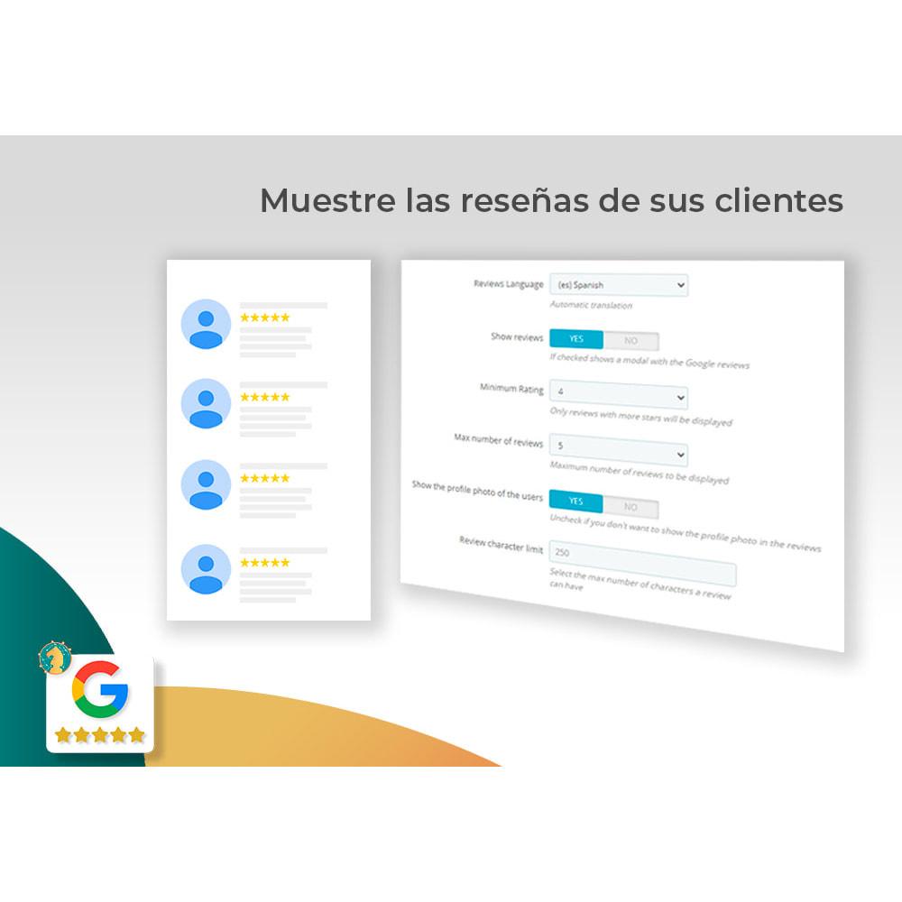 module - Comentarios de clientes - Google My Business Badge PRO - 4