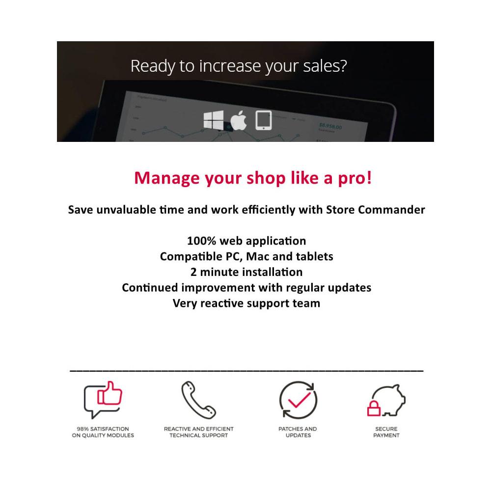 module - Administrative tools - Store Commander - 1