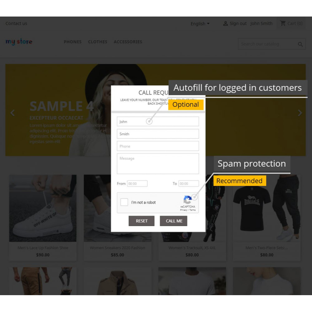 module - Suporte & Chat on-line - Advanced Call Back Requests - 4