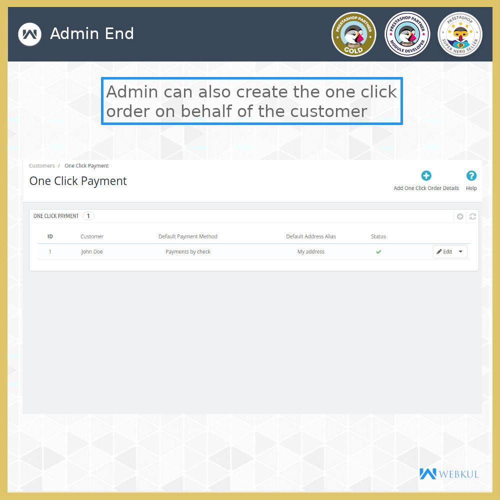 module - Proceso rápido de compra - One Click Pay | Hassle Free Checkout - 7