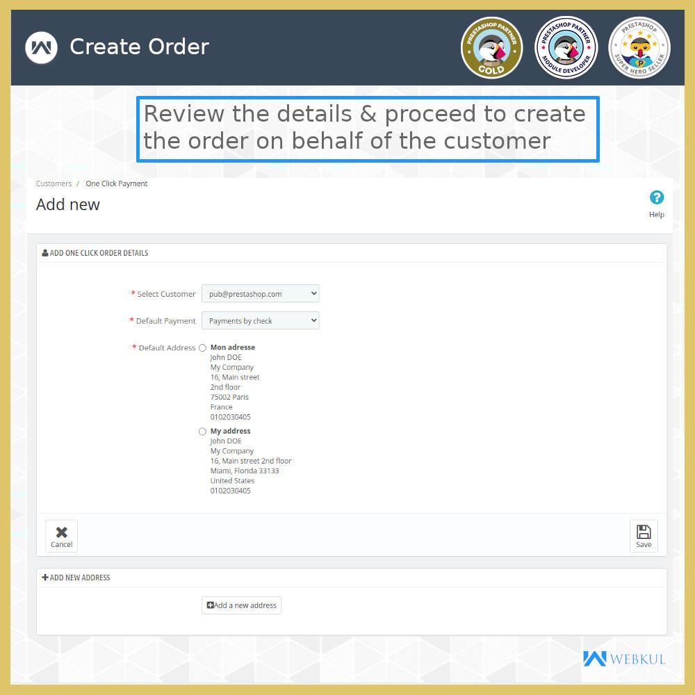 module - Proceso rápido de compra - One Click Pay | Hassle Free Checkout - 8