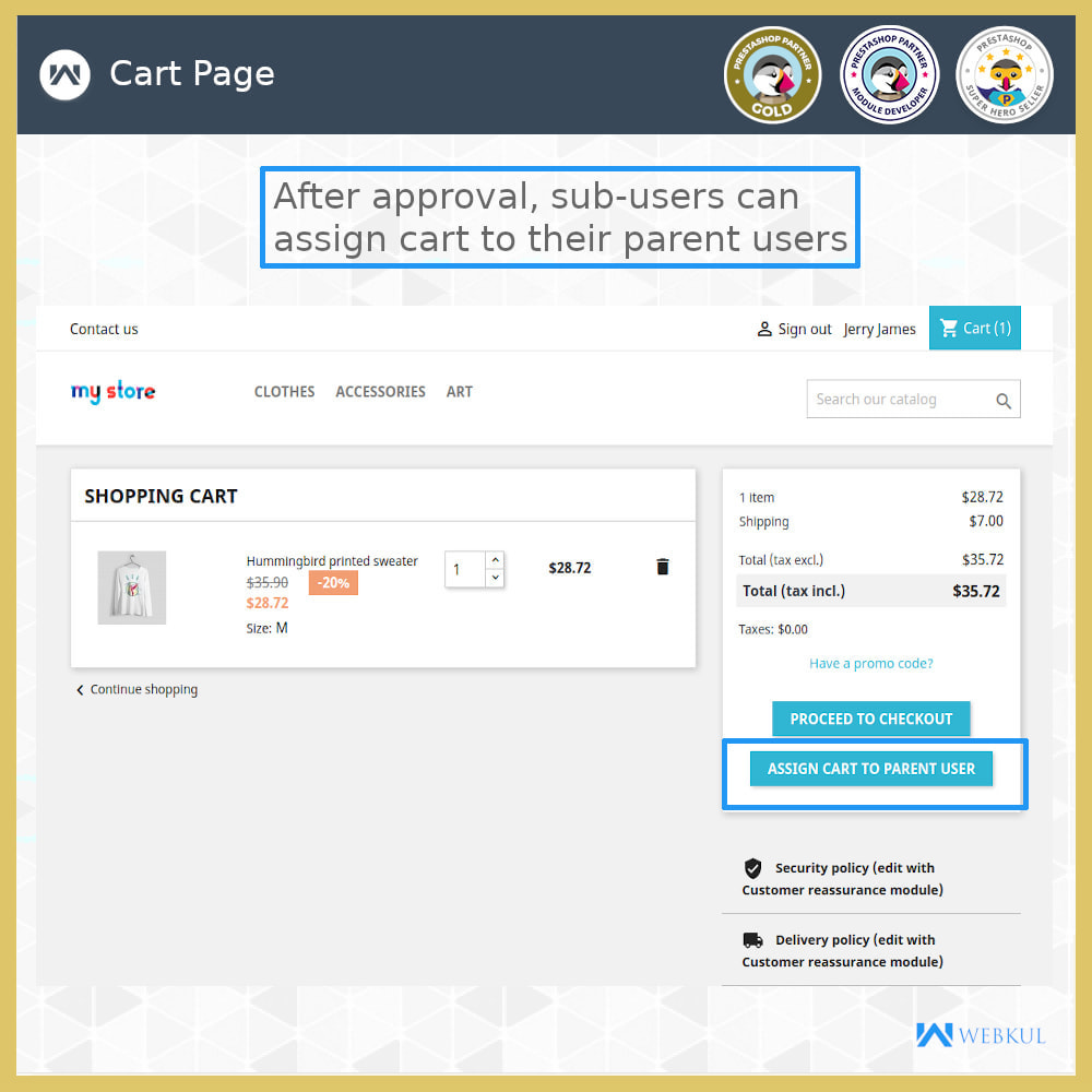 module - Social Login & Connect - Add Sub-User Account for Buying - 3