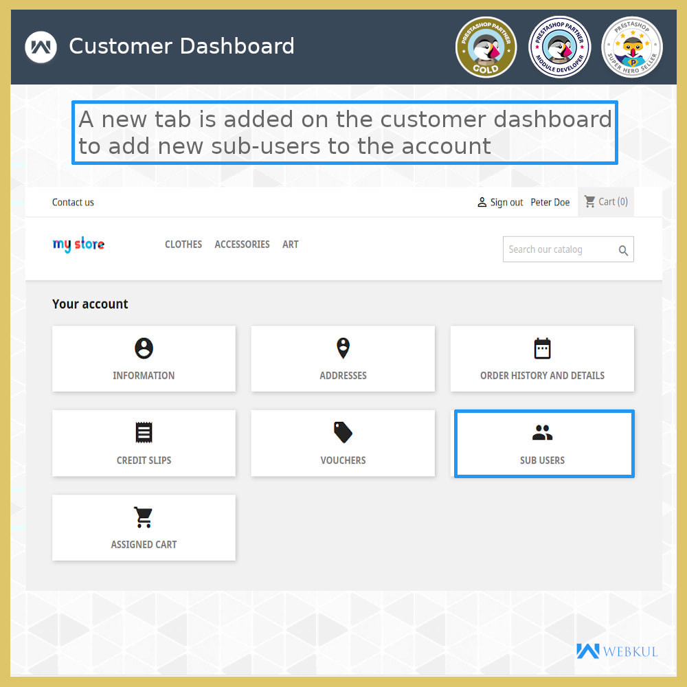 module - Social Login & Connect - Add Sub-User Account for Buying - 6