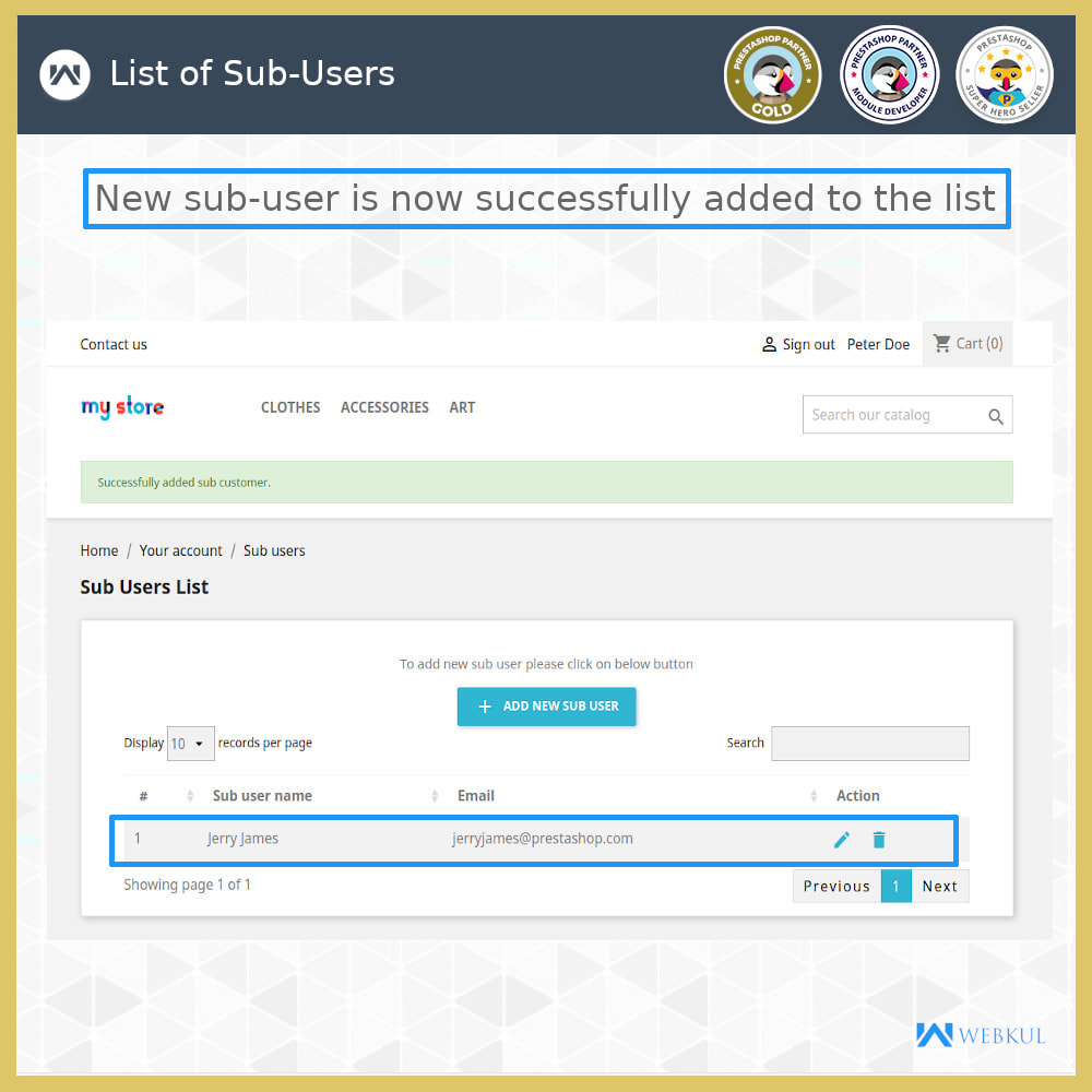 module - Social Login & Connect - Add Sub-User Account for Buying - 9