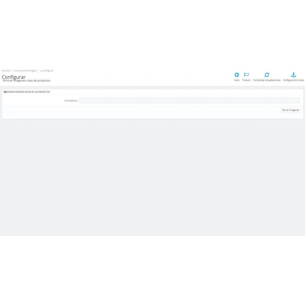 module - Fotos de productos - Eliminar imágenes rotas de producto - 4