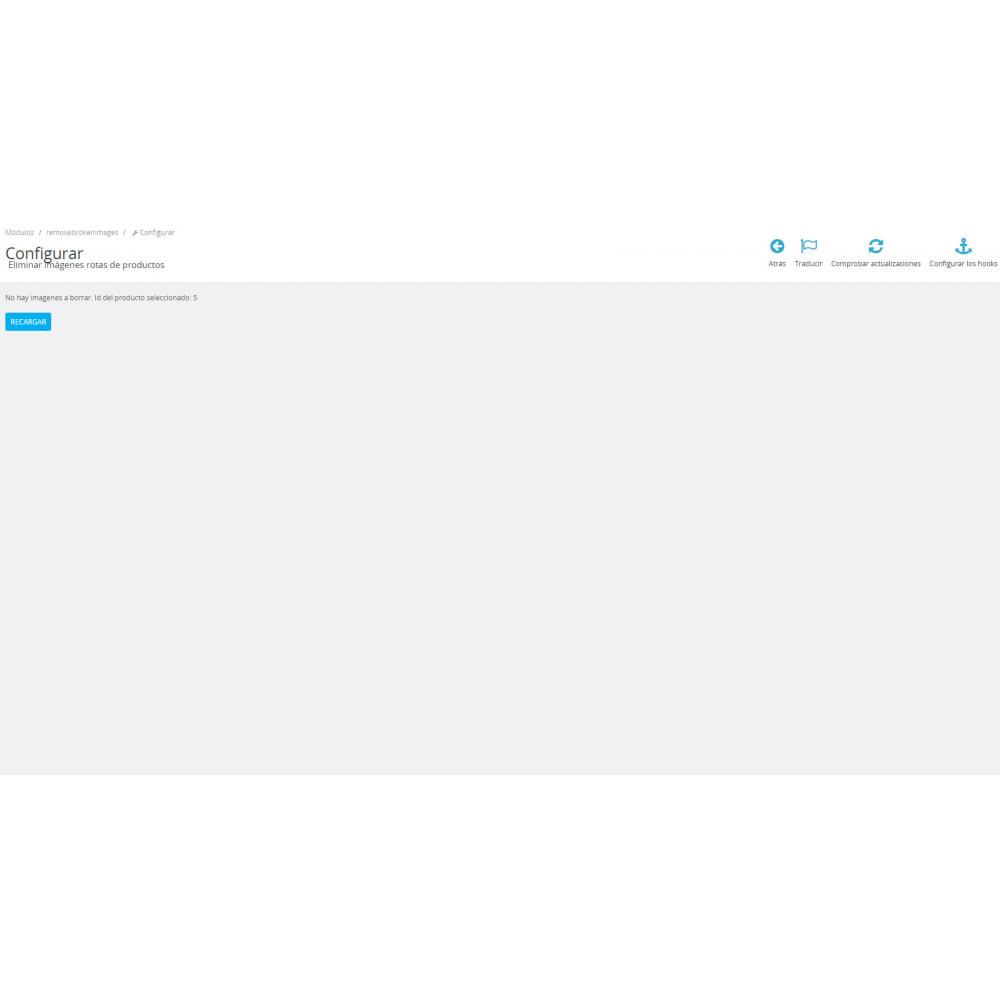 module - Fotos de productos - Eliminar imágenes rotas de producto - 5