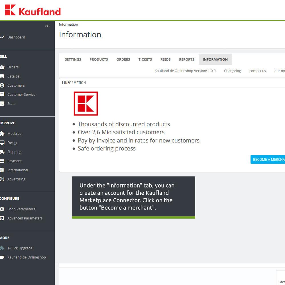 module - Revenda (marketplace) - kaufland.de Marketplace Connector - 3
