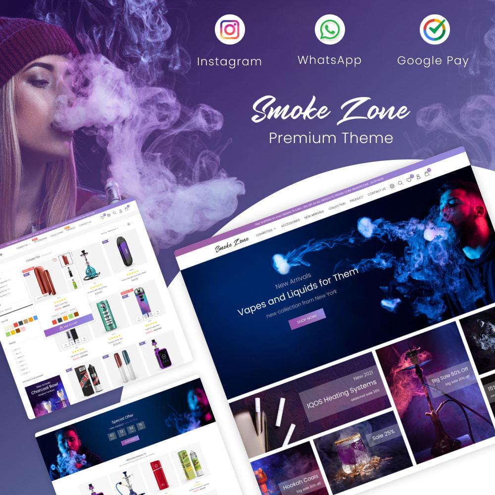 theme - Getränke & Tabak - Smoke Zone - Alcoholic, Drinks, Tobacco, Wine, Coffee - 1