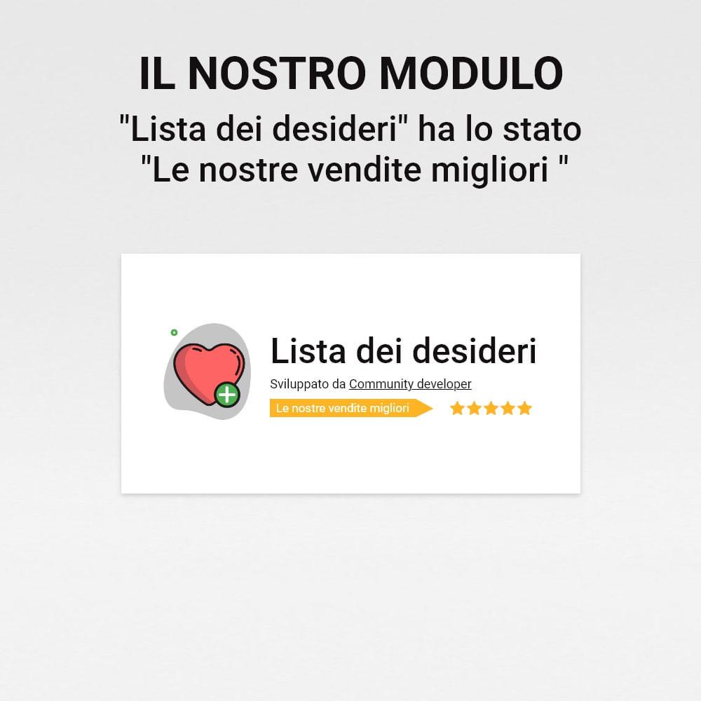 module - Whishlist & Gift Card - Lista dei desideri - 14