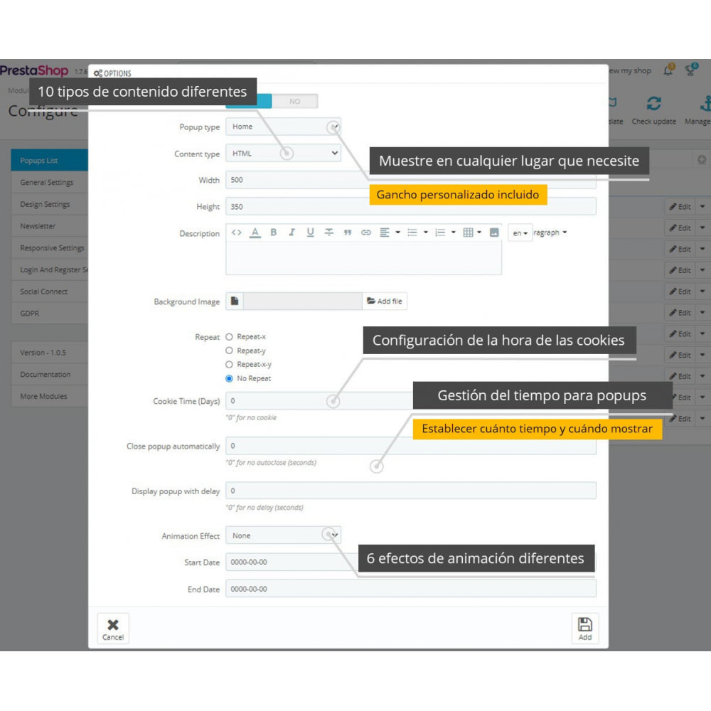 module - Botones de inicio de Sesión/Conexión - Paquete de Pop-Ups (10 en 1) Y Conexión social - 14