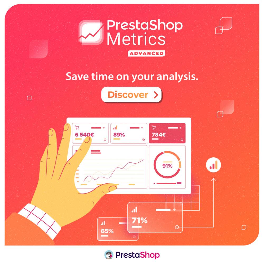module - Статистика и анализ - PrestaShop Metrics - 5