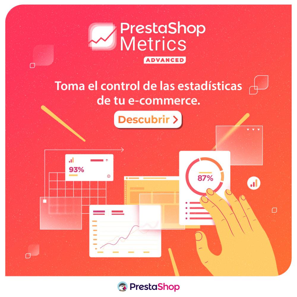 module - Informes y Estadísticas - PrestaShop Metrics - 4