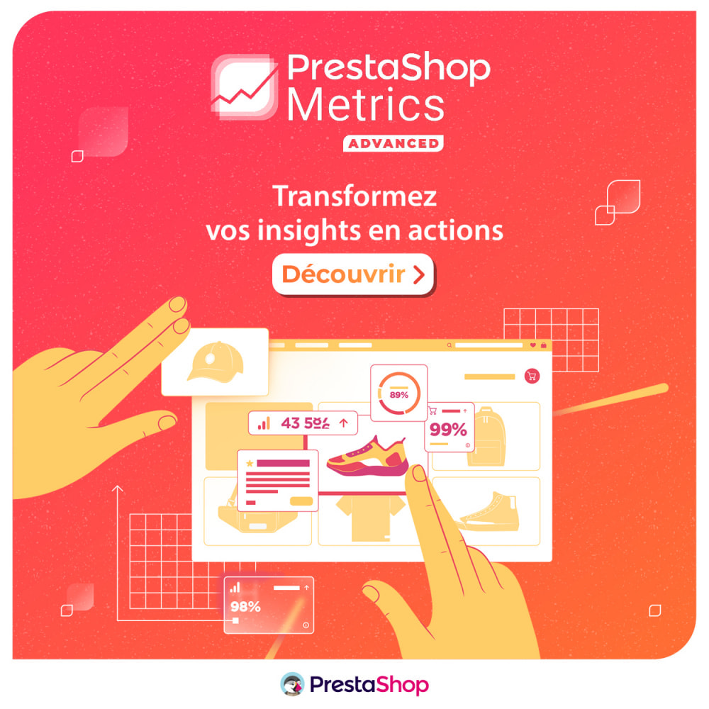 module - Analyses & Statistiques - PrestaShop Metrics - 6