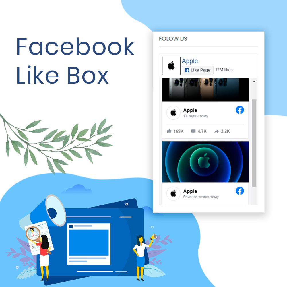 module - Social Widgets - Social Like Box & Feed - 1