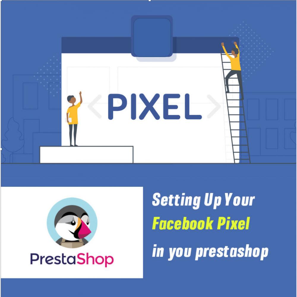 module - Товаров в социальных сетях - Pixel events - 1