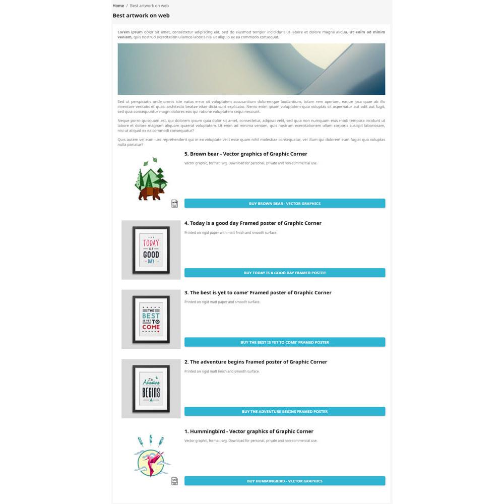 module - SEO (Indicizzazione naturale) - Mostra classifiche sul frontend orientate al SEO - 1
