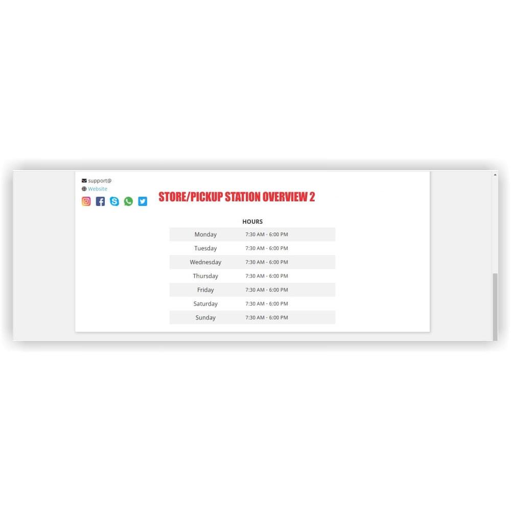 module - Punto di raccolta & Ritiro in negozio - Pickup - 27